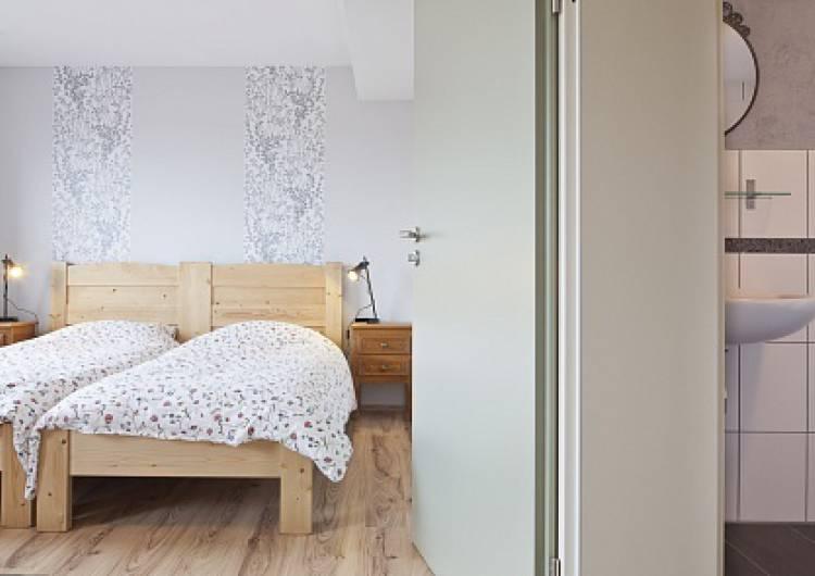 badkamer met slaapkamer