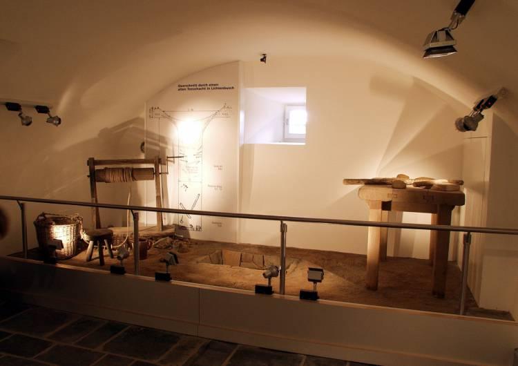 raeren burg toepfereimuseum 25 tonschacht modell c burg raeren