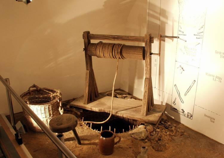 raeren burg toepfereimuseum 24 tonschacht modell c burg raeren