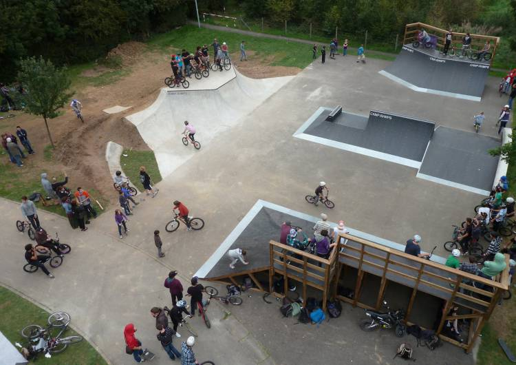 skatepark oben