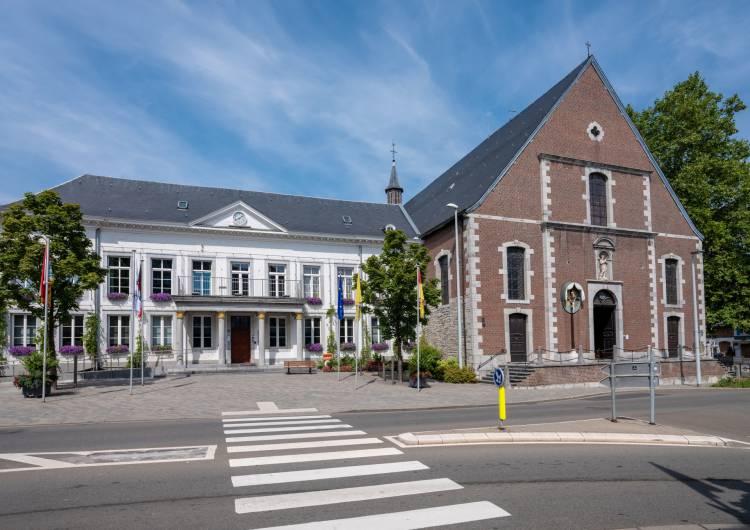 eupen rathaus klosterkirche 01 c christian charlier ostbelgien.eu